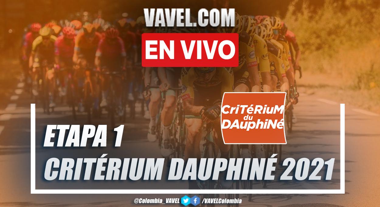 Resumen etapa 1 Critérium du Dauphiné 2021: Issoire - Issoire