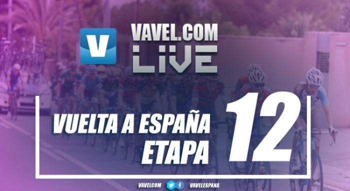 Resultado de la duodécima etapa de la Vuelta a España 2017: Piedras en el camino para Froome