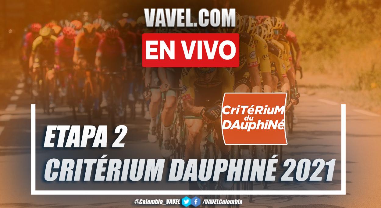 Resumen etapa 2 Critérium du Dauphiné 2021: Brioude - Saugues