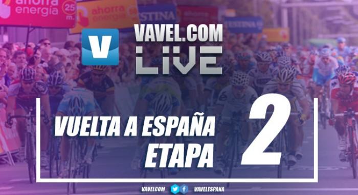 Resultado de la segunda etapa de la Vuelta a España 2017: Doblete de Quick-Step Floors