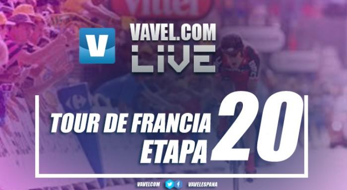 Resumen de la etapa 20 del Tour de Francia 2017: ganan Bodnar y Froome. Landa roza el podio