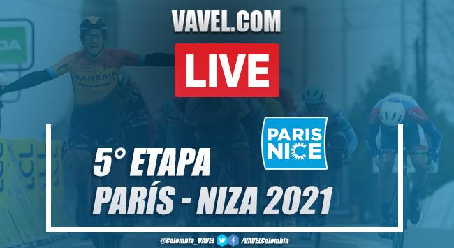 Resumen etapa 5 París - Niza 2021 entre Vienne y Bollène