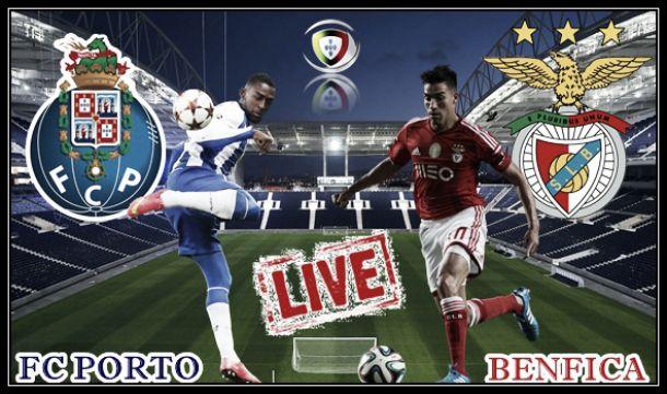 Porto x Benfica    no Clássico 2014