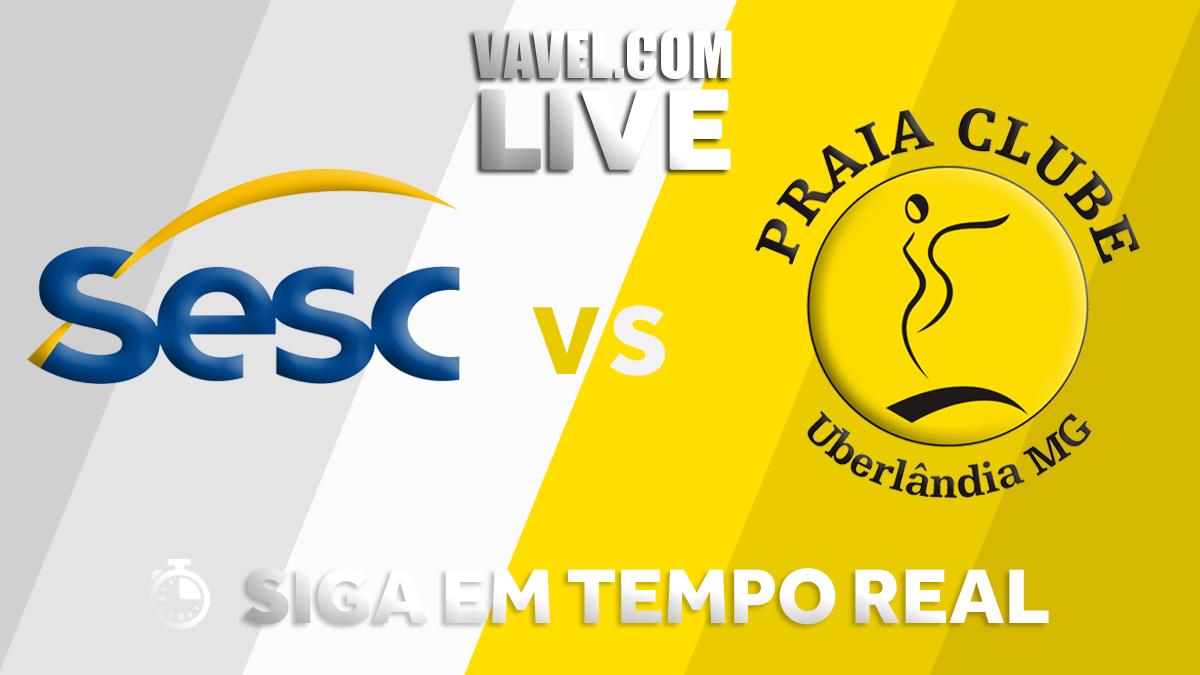 Resultado Praia Clube x Rio de Janeiro na final da Superliga Feminina (4-0)