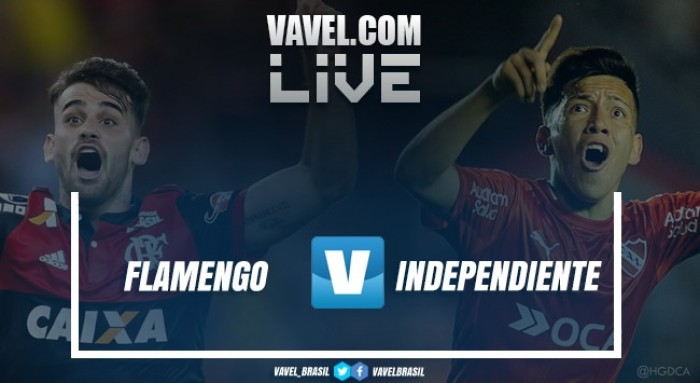 Resultado Flamengo x Independiente pela final da Copa Sul-Americana (1-1)