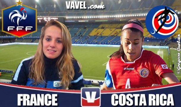 Live Coupe du Monde féminine U20 : le match France - Costa Rica en direct