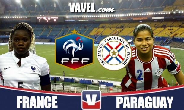 Live Coupe du Monde féminine U20 : le match France - Paraguay en direct