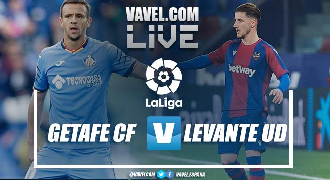 Resumen Getafe vs Levante en LaLiga Santander 2021