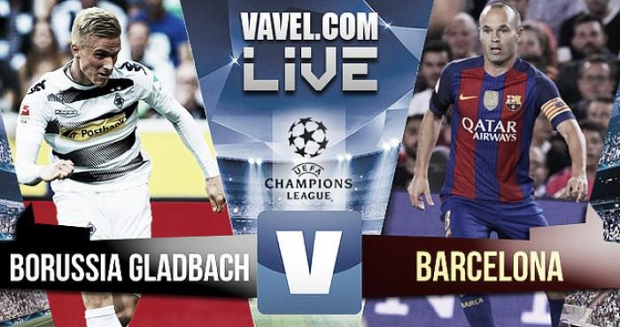 Borussia Mönchendgladbach vs FC Barcelona en vivo y en directo en Champions League