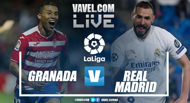 Resumen del Granada 1-4 Real Madrid en LaLiga 2021