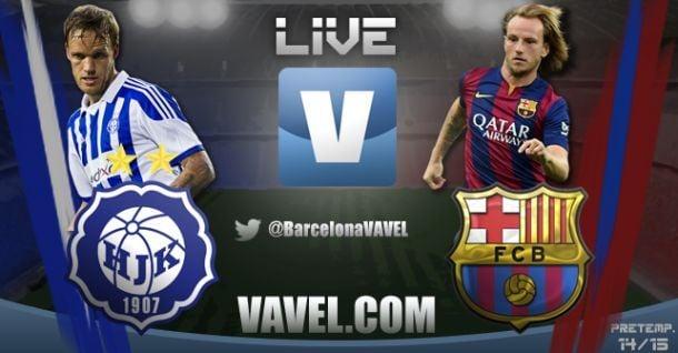 Live Helsinki - FC Barcelone, le match en direct