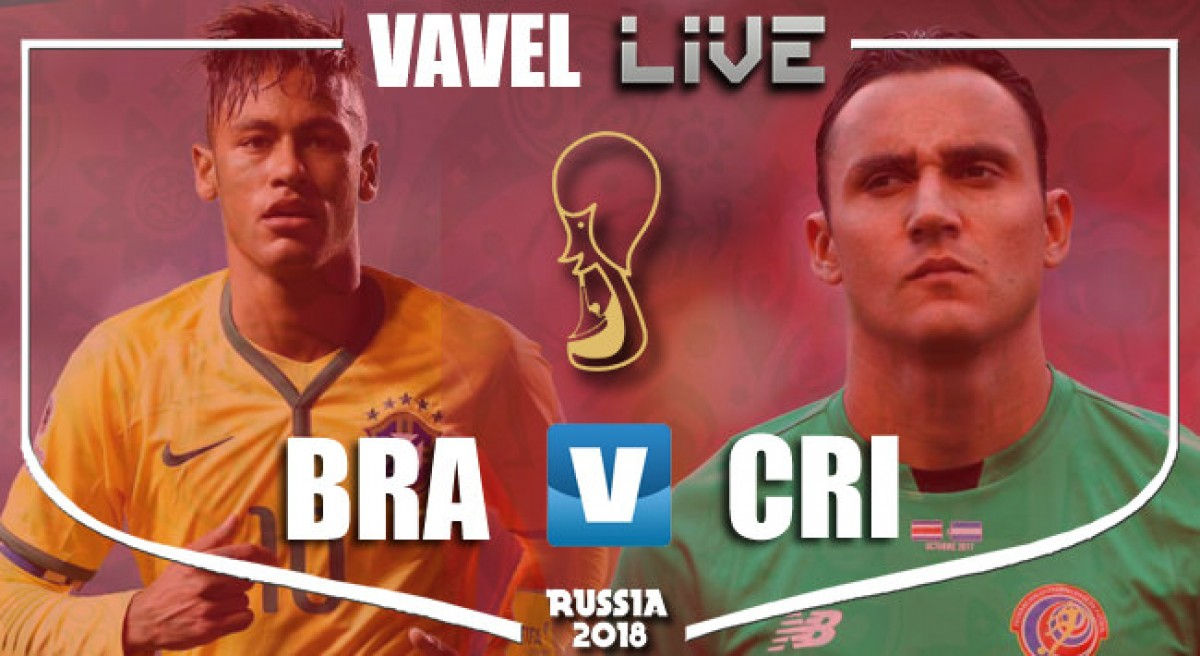 Brazil vs Costa Rica Live, Coutinho and Neymar secure a late victory for Brazil