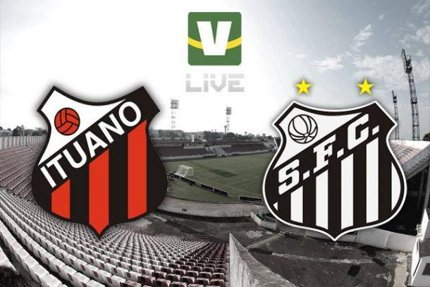 Ituano x Santos, Campeonato Paulista ao vivo online