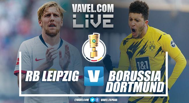 RB Leipzig vs Borussia Dortmund en directo online hoy en la final de la DFB Pokal