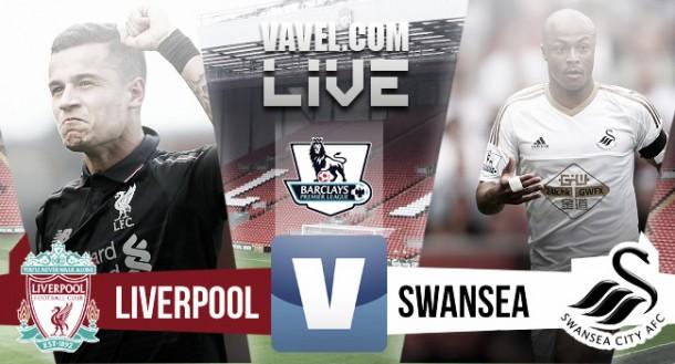 Liverpool vs Swansea en vivo y en directo online (1-0)