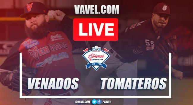 Highlights & Runs: Tomateros 6-2 Venados, Game 1 LMP 2020