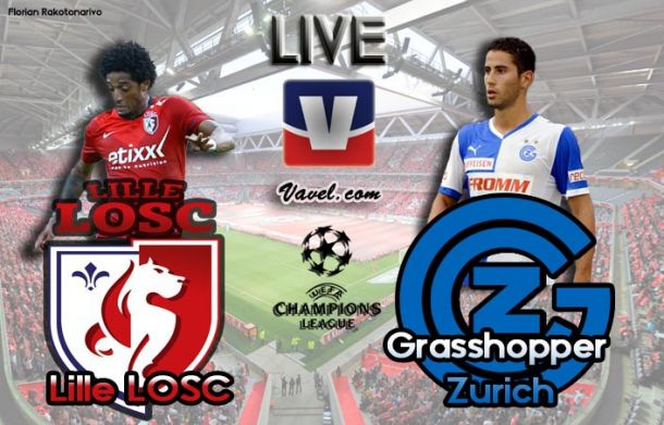 Live Ligue des Champions : Lille vs Grasshopper Zurich en direct