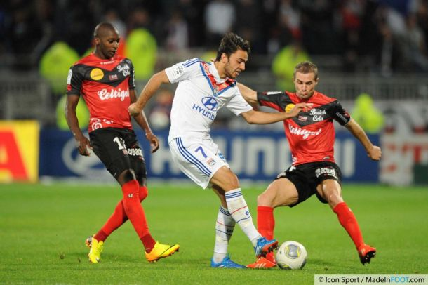 Live Ligue 1: Lyon vient à bout de Guingamp