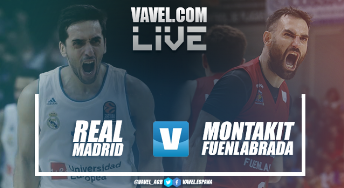Resumen Real Madrid Baloncesto 100-71 Montakit Fuenlabrada en Liga Endesa 2017/18