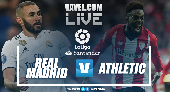 Resumen Real Madrid 3-0 Athletic Club de Bilbao en LaLiga 2019