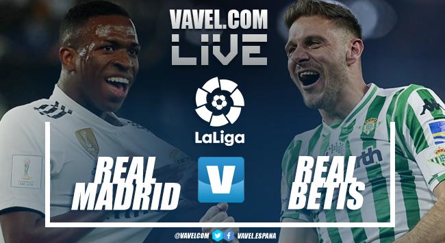 Resumen y goles Real Madrid 0-2 Real Betis en la Liga Santander 2018-19