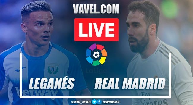 Leganés vs Real Madrid EN VIVO y en directo online en LaLiga