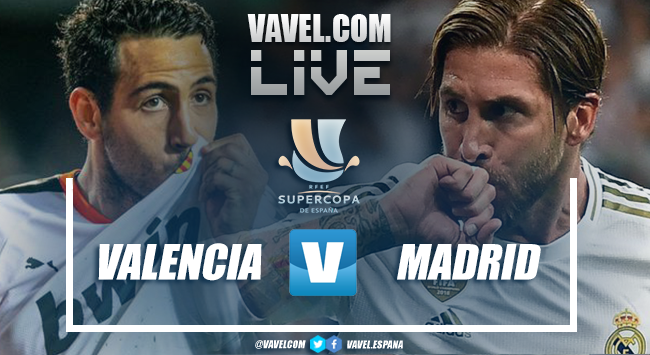 Melhores momentos Valencia x Real Madrid pela Supercopa da Espanha
