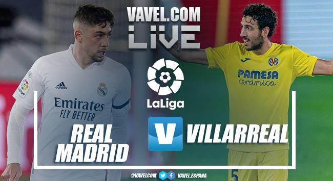Resumen de Real Madrid vs Villarreal en LaLiga (2-1)