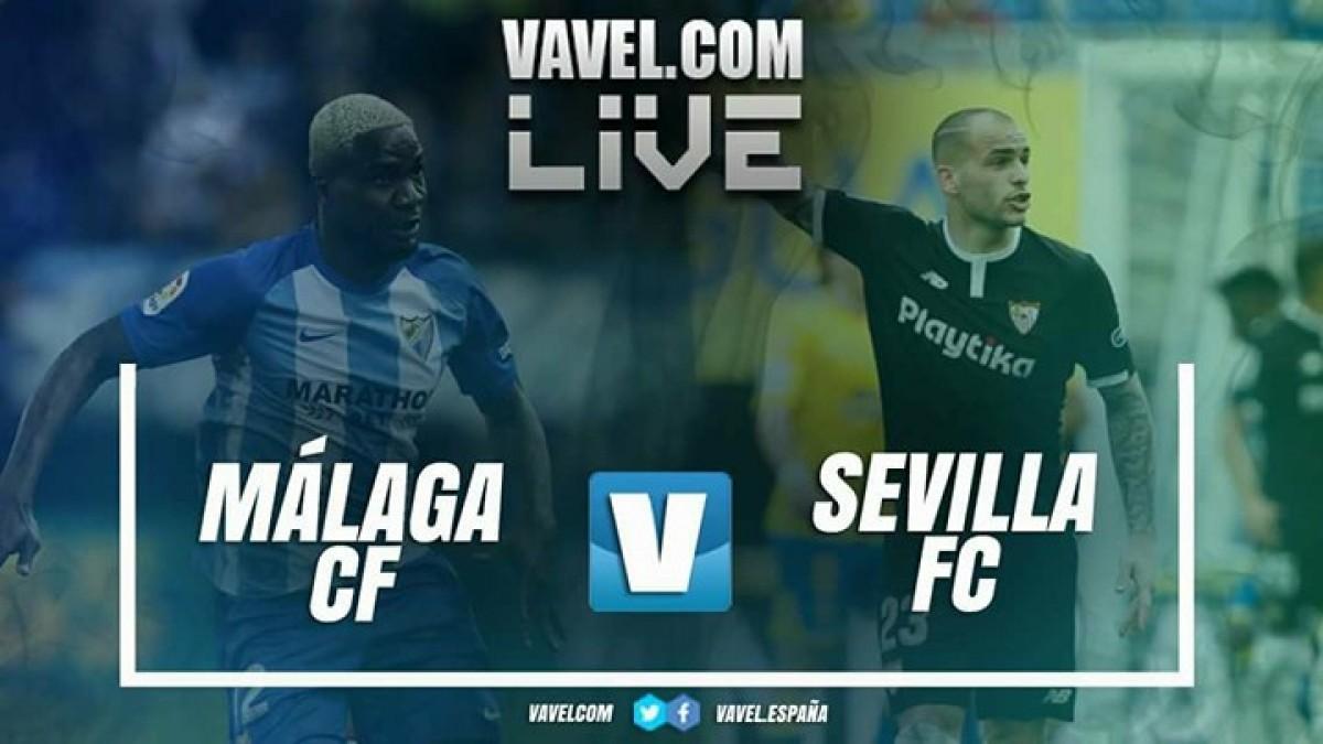 Resumen Málaga CF-Sevilla FC en LaLiga 2018