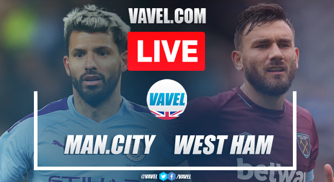 Manchester City vs West Ham United: Live Stream TV Updates and How to Watch Premier League 2020 (2-0)