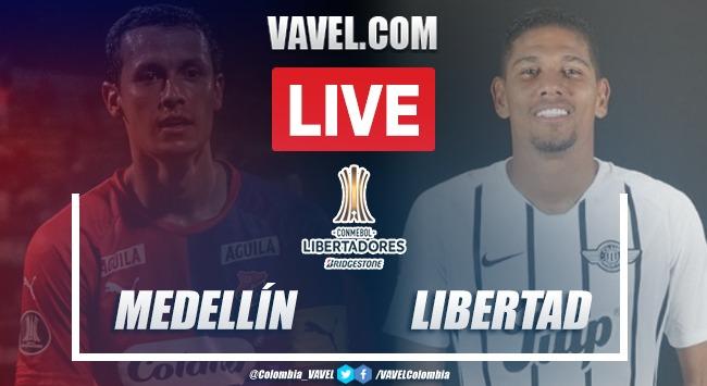 Resumen y goles: Medellín 1-2 Libertad en Copa Libertadores 2020