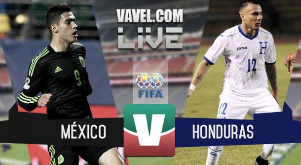 Resultado México - Honduras 2015 (0-0)
