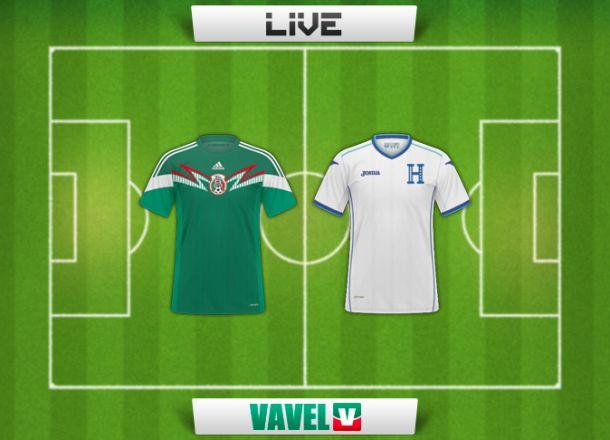 Resultado México - Honduras en amistoso 2014 (2-0)