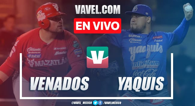 Resumen carreras Juego 6: Venados de Mazatlán 4-3 Yaquis Ciudad Obregón en semifinal LMP 2020
