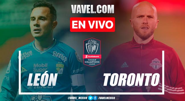 Resumen y goles: León 1-1 Toronto en Octavos de Final de Ida de la Concachampions 2021