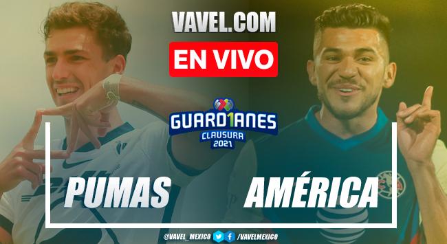 Gol y resumen: Pumas UNAM 0-1 América en Jornada 17 de Liga MX Guard1anes 2021