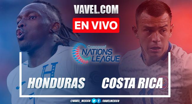 Resumen, goles y penales: Honduras 2 (5)-(4) 2 Costa Rica en Tercer Lugar de la Liga de Naciones CONCACAF 2021