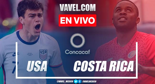 Resumen y goles: Estados Unidos 4-0 Costa Ricaan amistoso 2021