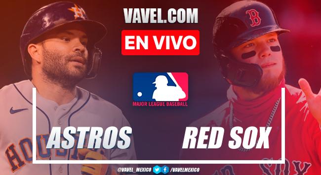 Resumen y carreras: Astros de Houston 8-12 Boston Red Sox en MLB 2021