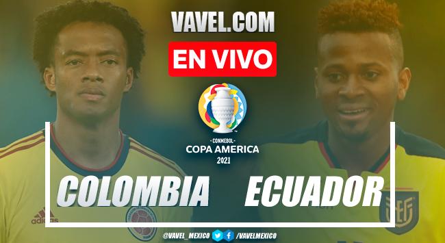 Gol y resumen del Colombia 1-0 Ecuador en Copa América 2021