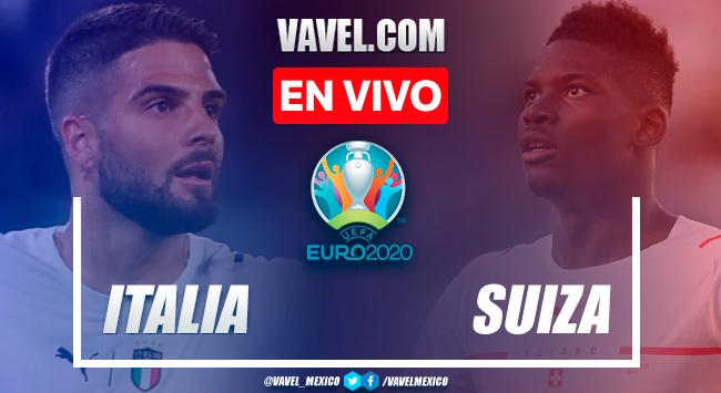 Resumen y goles: Italia 3-0 Suiza en Fase de Grupos de la Euro 2020