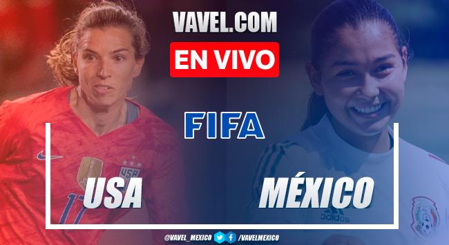 Goles y resumen: México 0-4 Estados Unidosen Amistoso Femenil 2021