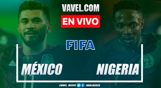Goles y resumen: México 4-0 Nigeria en Amistoso 2021