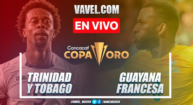 Resumen, goles y penales: Trinidad y Tobago (8) 1-1 (7) Guayana Francesa en Fase Previa Copa Oro 2021