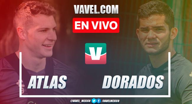 Resumen y goles: Atlas 3-0 Dorados de Sinaloa en partido amistoso de pretemporada rumbo al Apertura 2021