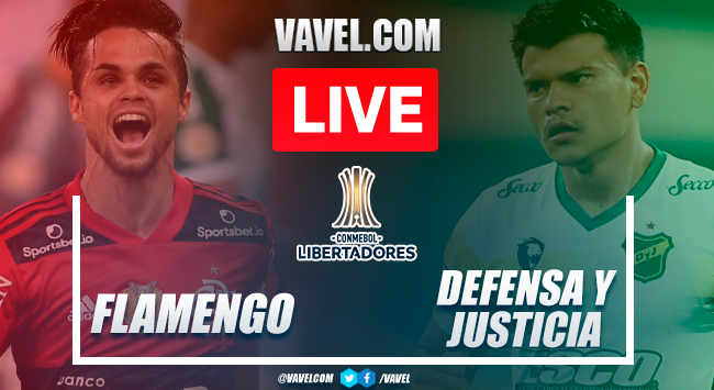Goals and highlights: Flamengo 4-1 Defensa y Justicia in 2021 Copa Libertadores