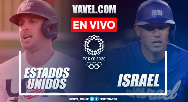 Resumen y carreras: Estados Unidos 8-1 Israel en béisbol por Juegos Olímpicos 2020