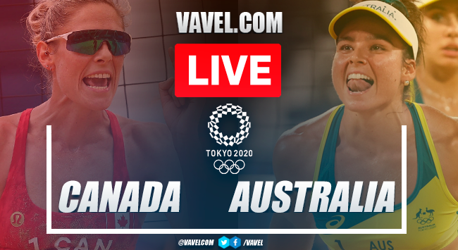 Highlights: Canada 1-2 Australia in Women's Beach Volleyball Olympic Games 2020