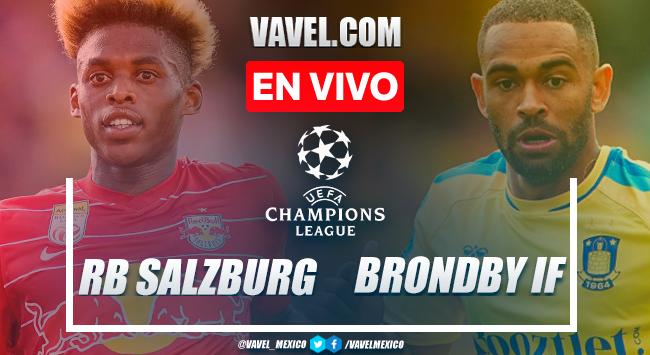 Resumen y goles: RB Salzburg 2-1 Brondby en Champions League 2021