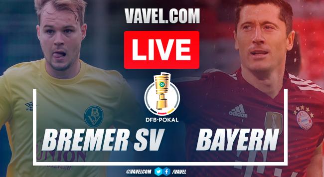 Goals and highlights: Bremer SV 0-12 Bayern Munich in DFB-Pokal